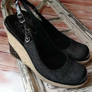 Cole Haan wedges. Size 6
